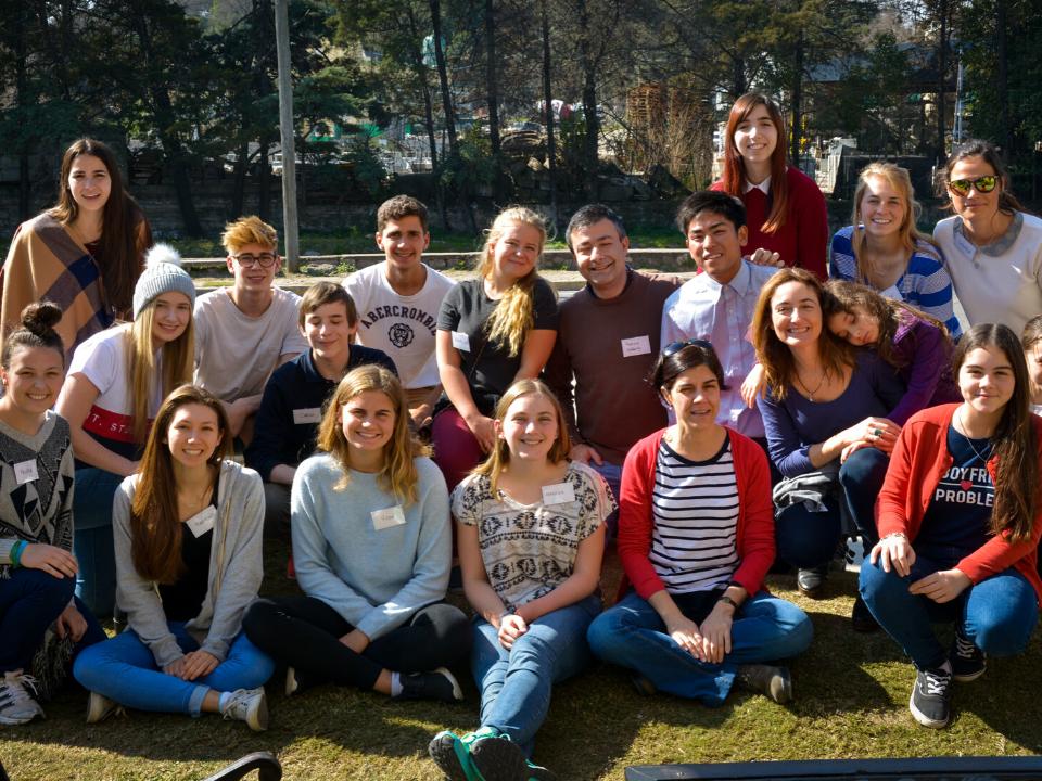 Argentina exchange students orientation