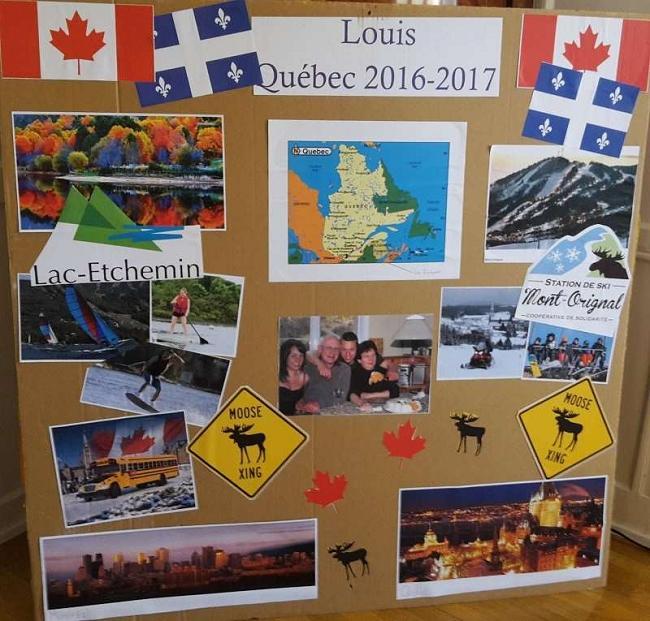 Canada Louis preparation board