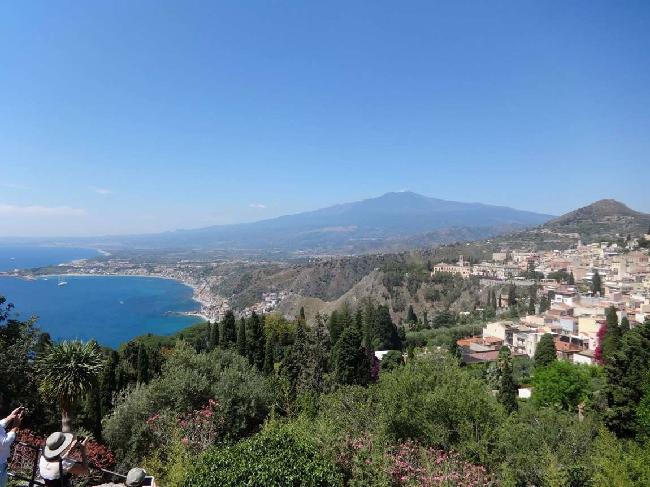 Italy Sicily view