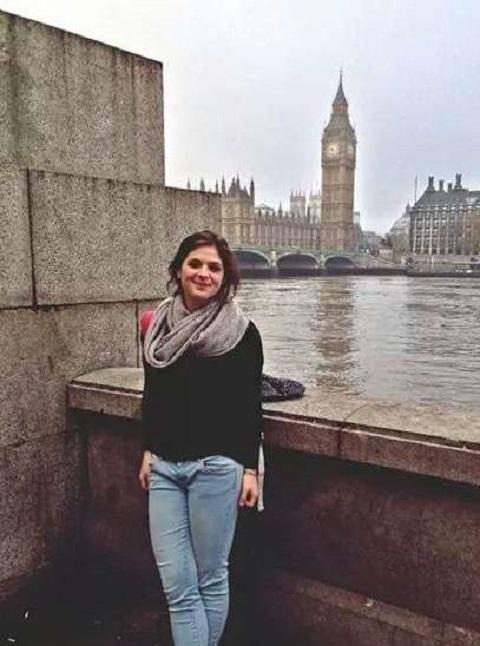 Michela in London