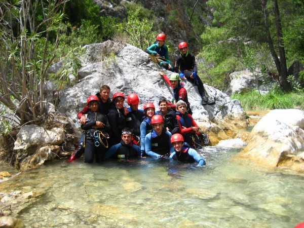 Canyoning-activities