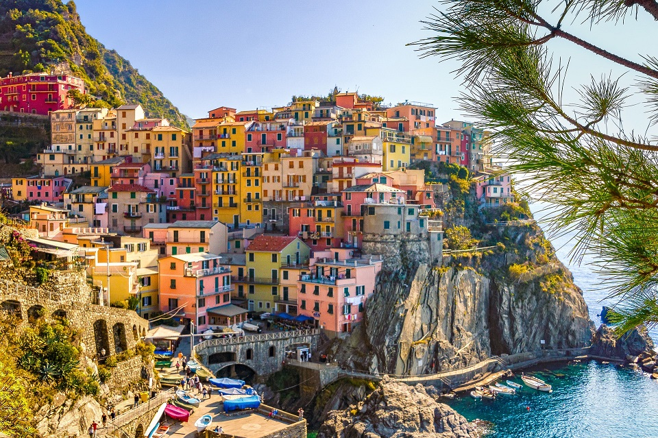 Italy town view