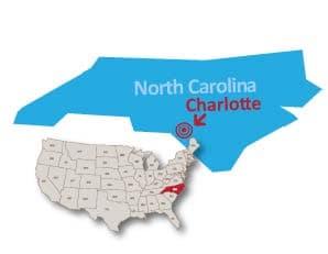 Charlotte North Carolina public preferred map