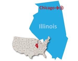 Chicago Illinois public preferred map