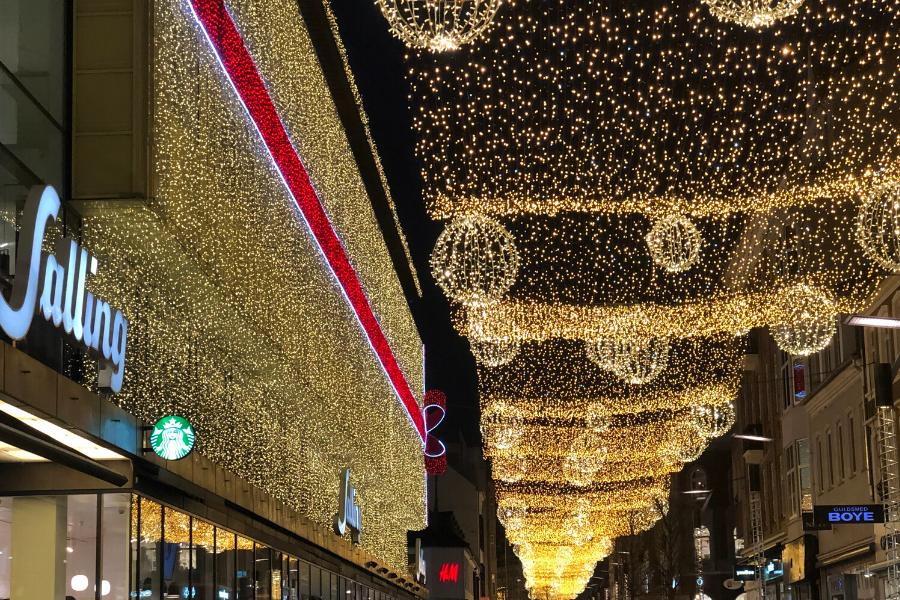 Denmark Christmas lights