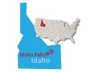 Idaho Falls Idaho public preferred map