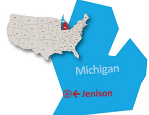 Jenison Michigan public preferred map