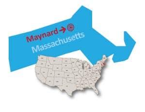 Maynard Massachusetts public preferred map