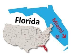 Miami Florida public preferred map