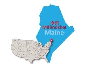 Millinocket Maine public preferred map