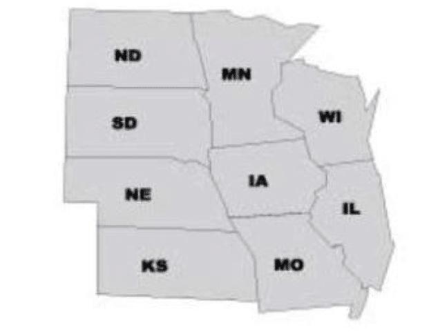 USA central region