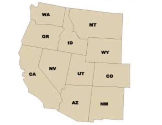 USA west region