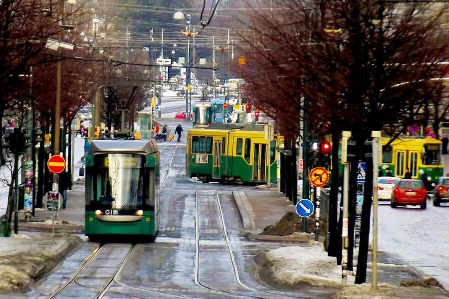 Finland tram