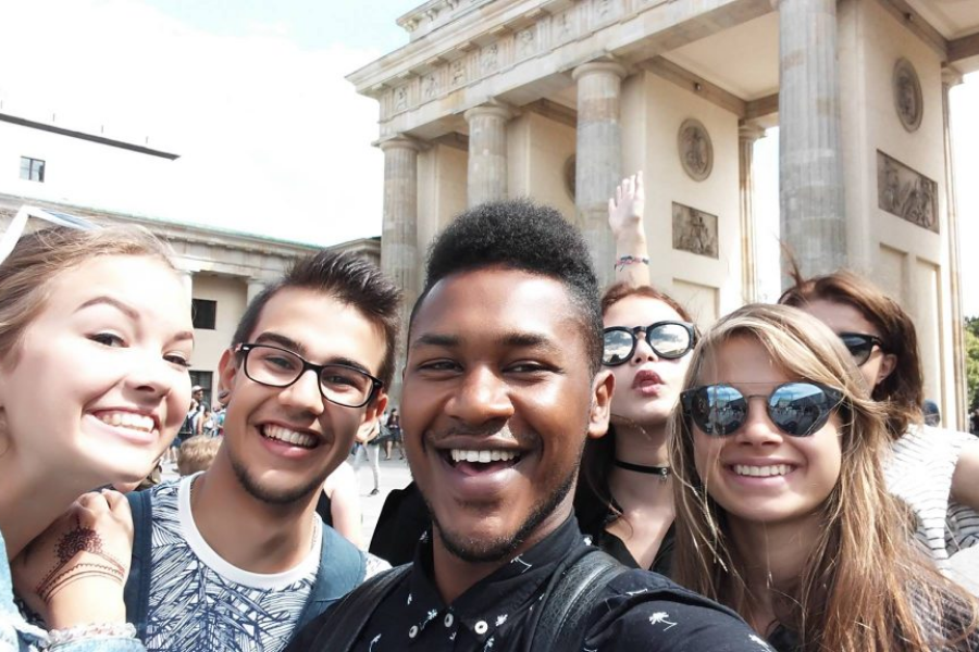 Language Travel students in Berlin