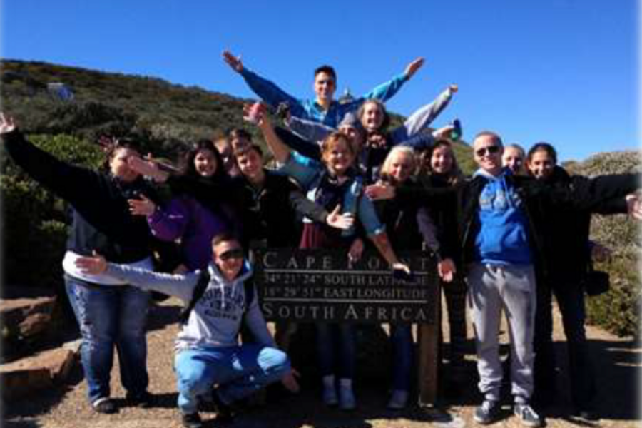 South Africa Cape Town tour group