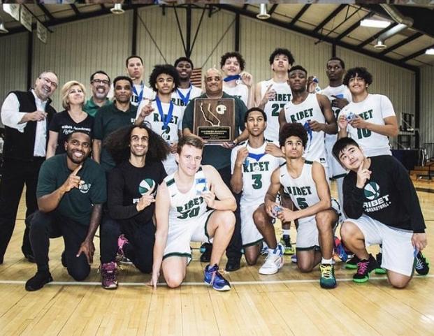 Ribet Academy Basketball team